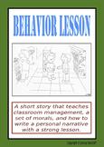 Behavior Management AND Personal Narrative Unit