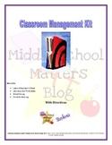 Classroom Management Kit