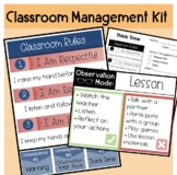 Classroom Management Kit Rules and Consequences