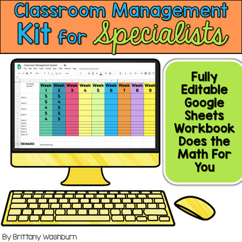 Classroom Management Kit for Specialists