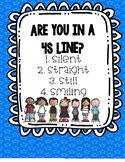 Classroom Management Line Up Procedures