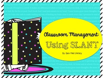 Classroom Management Made Easy:: Using SLANT