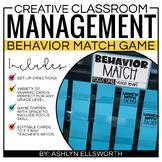 Classroom Management Matching Game