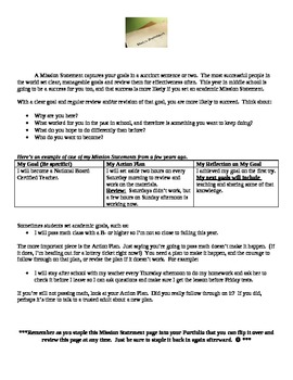 Classroom Management:  Missing Homework/Materials System