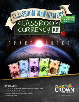 Classroom Cash: Classroom Management Currency Kit + Extras