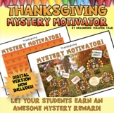 Classroom Management | Mystery Motivator for Thanksgiving