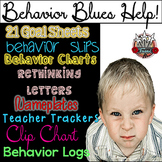 Classroom Management Behavior Tools:  Charts, Forms, Slips