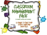 Classroom Management Pack