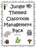 Jungle Theme Clip Chart