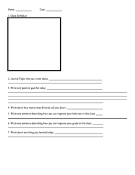 Classroom Management Packet