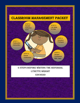 6 Step Classroom Management Packet