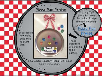 Classroom Management - Pizza Pan Praise {cupcake}