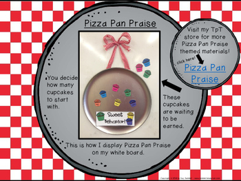 Classroom Management - Pizza Pan Praise {cupcake}