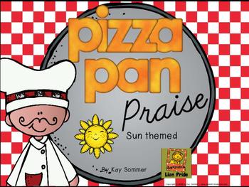 Classroom Management - Pizza Pan Praise {sun}