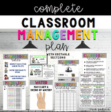 Classroom Management Plan {editable}