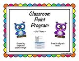 Classroom Management - Point Program