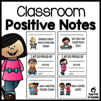 Classroom Management Positive Notes