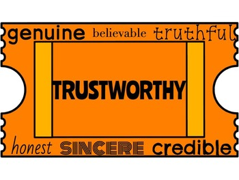 Classroom Management. Character Education: Trustworthy.  Raffles
