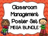Classroom Management Posters--LISTENING--HANDWASHING--CHECK UNDERSTANDING-PENCIL