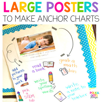 Classroom Management Posters, Cards, and Response Pages