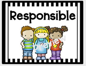 PBIS -Classroom Management Posters - Respectful, Responsible, Safe