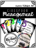 Classroom Management - Posters and Strategies