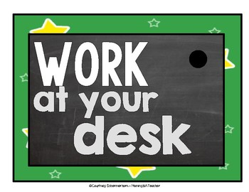 Classroom Management Posters to Answer Kids' Never-Ending Questions