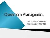 Classroom Management Power Point