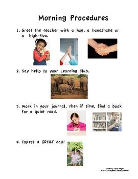 Classroom Management Procedures