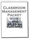 Classroom Management, Procedures, and Discipline Packet
