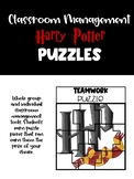Classroom Management Puzzles - Harry Potter Themed