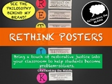 Classroom Management- ReThink Posters