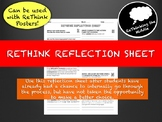 Classroom Management- ReThink Reflection Sheet