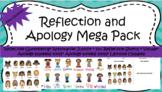 Classroom Management: Reflection Sheet and Apology MEGA Bundle!!