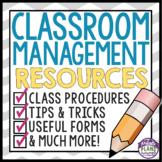 CLASSROOM MANAGEMENT RESOURCES