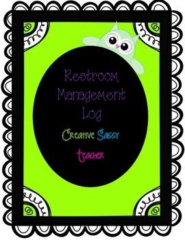Classroom Management-Restroom