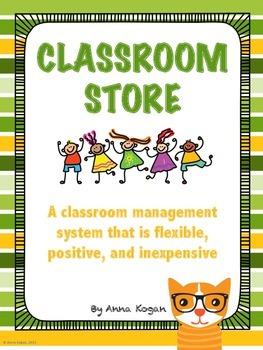 Classroom Management Reward Store