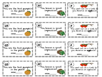 Classroom Management: Reward Tickets