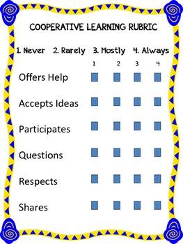 Classroom Management Rubrics