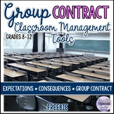 Classroom Management: Rules, Consequences, Group Contract