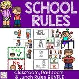 Classroom Management- School Rules Bundle