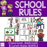 Classroom Management- School Rules Bundle