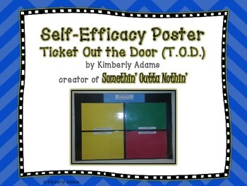 Classroom Management (Self-Efficacy Poster)