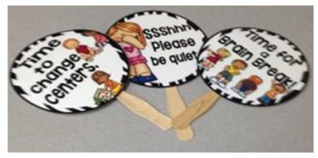 Classroom Management Signs Set {Animal Theme}