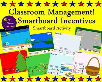 Classroom Management- Smartboard Incentives!