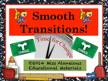 Classroom Management: Smooth Transitions!