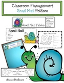"Classroom Management: ""Snail Mail"" Take Home Folders"