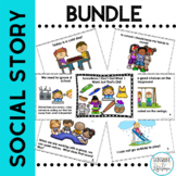 Social Story 6 Pack BUNDLE {for Preschool, Kindergarten and First Grade}