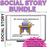 Social Story BUNDLE 7 PACK Growing BUNDLE