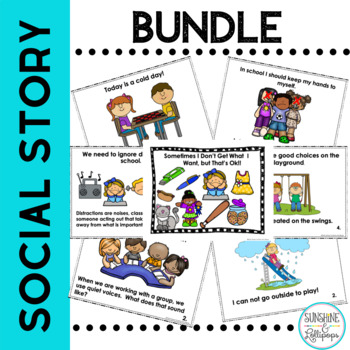 Classroom Management Social Stories and Skills for Pre-K -